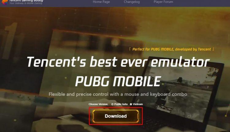 Bilgisayarda PUBG Mobile Oynamak PC Emulatör İndir
