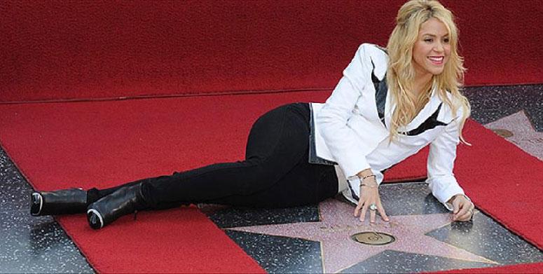 Shakira Hollywood Şöhretler Kaldırımı