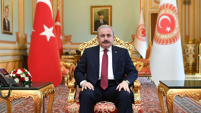 Meclis Başkanı Mustafa Şentop Meclis bahçesinden İstiklal Marşı okuyacak