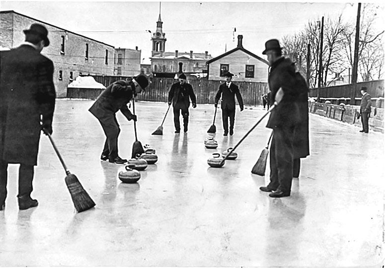 Curling korling oyunu