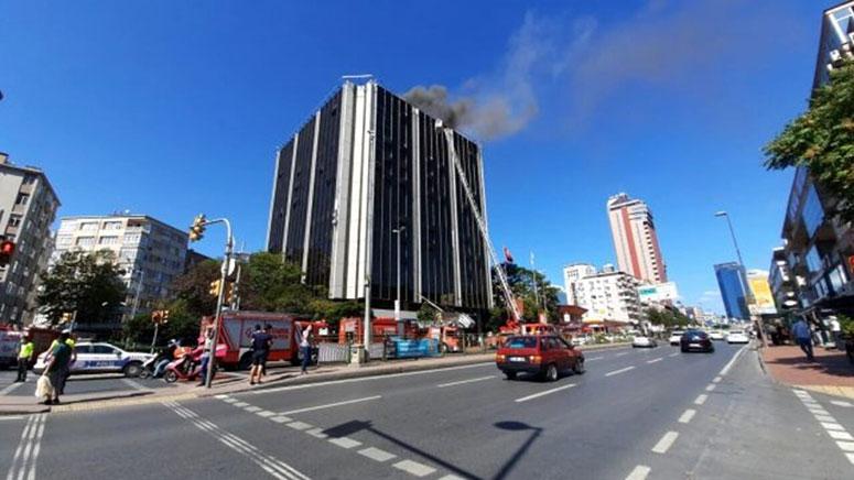 ATV Binasının Çatı Katında Yangın
