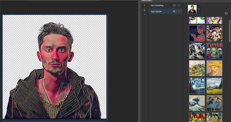 Photoshop 2021 Yüz Fitleri