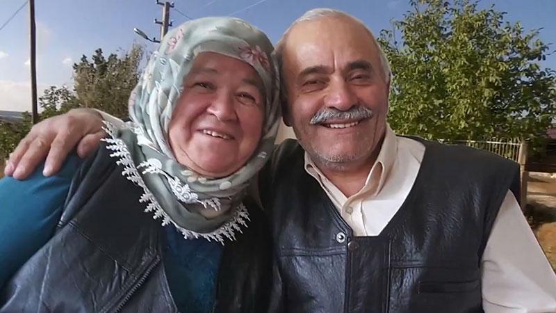 Zeliha Uysal Cevdet Uysal Çifti 42 Yıldır Evlilerdi