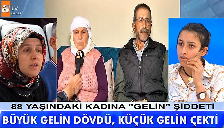 Cennet Arslan Fadime Arslan ı Yıkarken Rahat Durmazsan Kaynar Suyu Kafana Patlatırım dedi