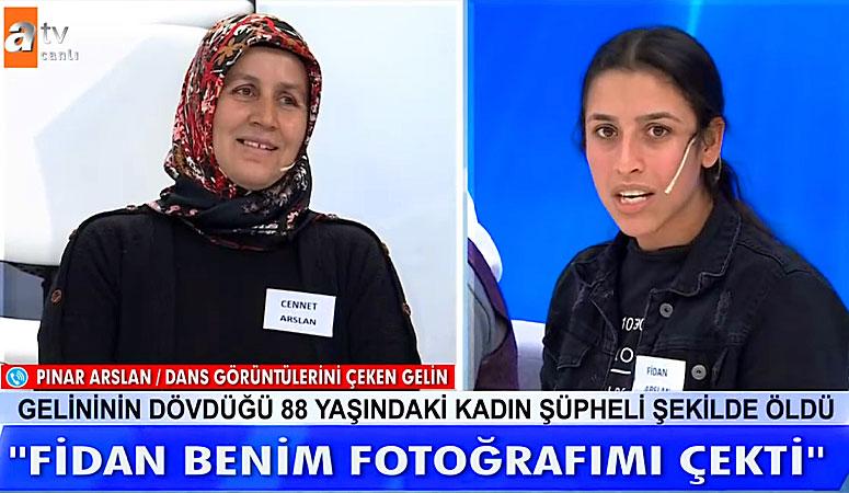 Cennet Arslan Fidan Arslan Pınar Arslan ı Tehdit Ediyor Diye iddia Etti