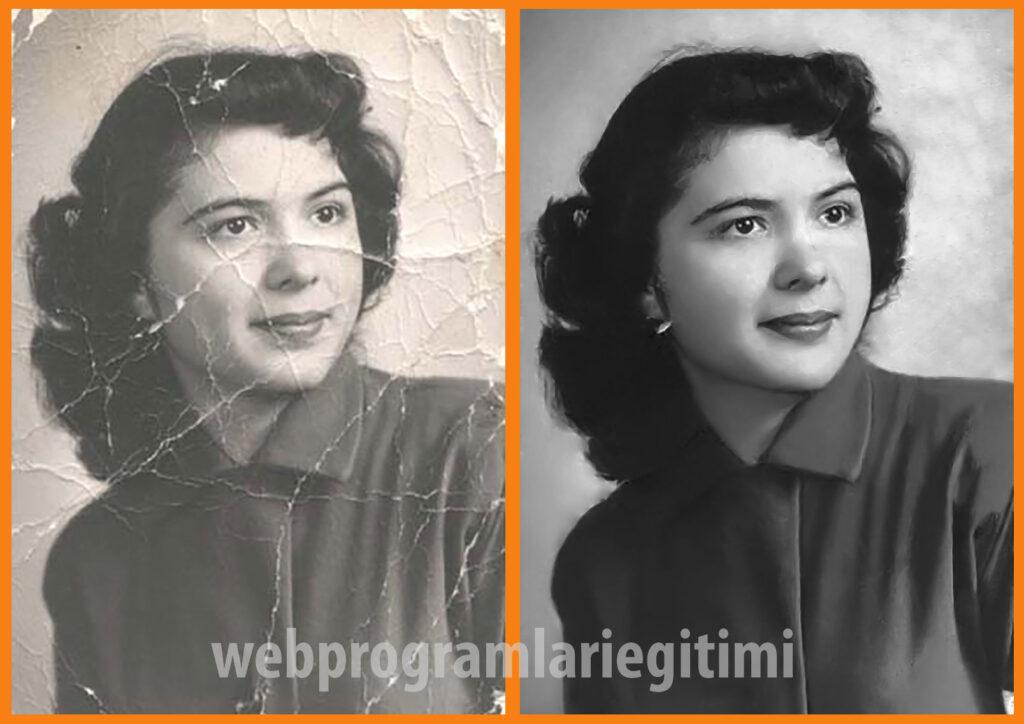 Eski Fotoğrafları Netleştirme