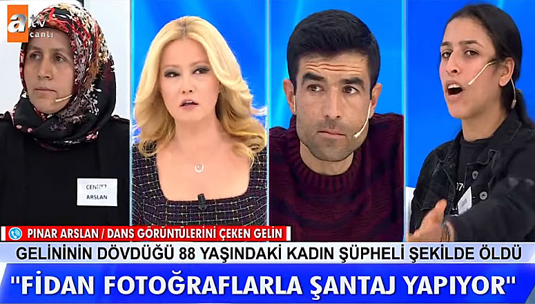 Fidan Arslan Fidan Arslan ı Fotoğraflar  ile Tehdit Ediyor İddiası