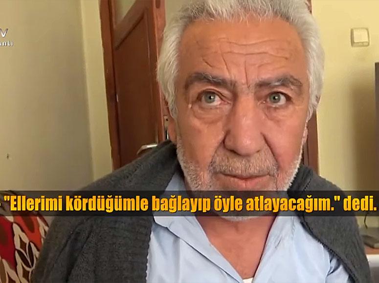 Mehmet Ali Tunç Ellerini Bağladığını Görmedim