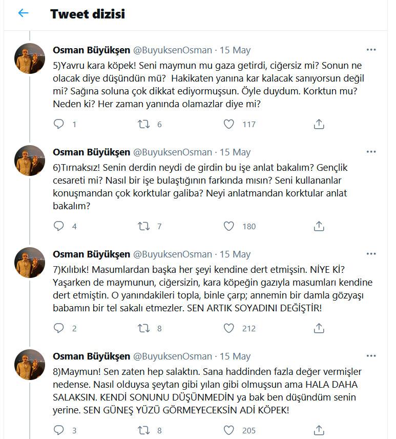 Osman Büyükşen Tweet Dizini