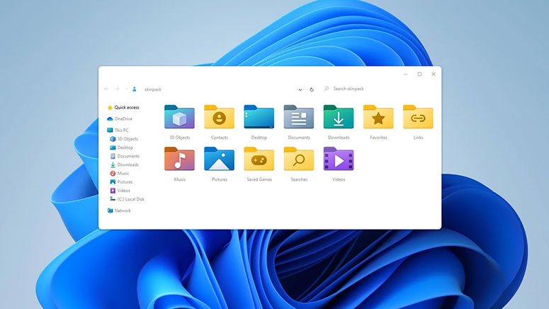Windows 11 Yeni nesil ikonlar