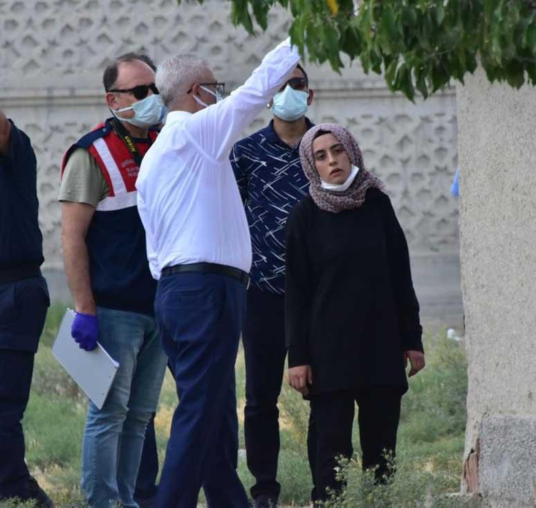 Büşra Büyükşen'e Evde Tatbikat Yaptırıldı
