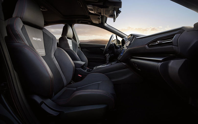 2022 Subaru WRX Standartt Recaro Ön Koltuklar