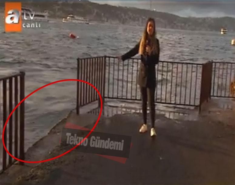 Ahmet Çetin' in denize atladığı yer